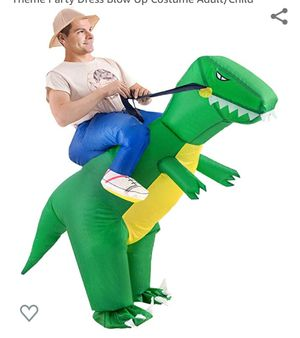 Inflatable T- Rex adult costume for Sale in Renton, WA