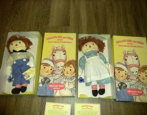 Certification raggedy Ann & Andy for Sale in San Rafael, CA