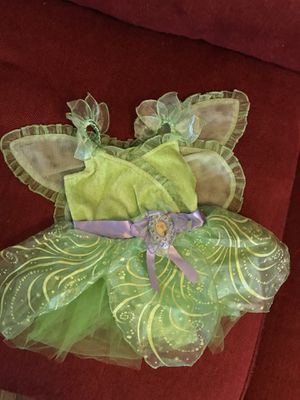 Baby girl Tinkerbell Halloween Costume 6-9M for Sale in Fallston, MD
