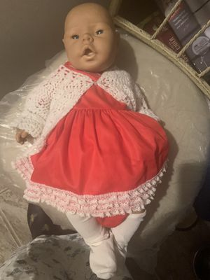 """Jesmar anatomically correct baby girl 18"""" tall for Sale in Hanover, MD"""