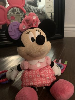 Disney Minnie Mouse Car seat Activity/Rattle for Sale in Gilbert, AZ