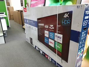 """65"""" TCL 4k UHD Smart HDR LED Tv for Sale in San Diego, CA"""