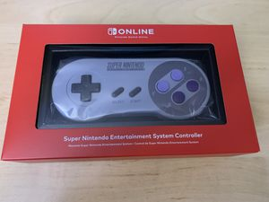 Nintendo Switch Online SNES Wireless Controller for Sale in Monroe, WA