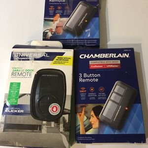 Chamberlain Remote Control Garage Door for Sale in Glendale, AZ