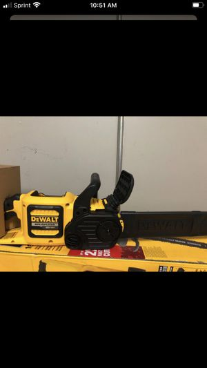 Dewalt flex volt chainsaw 16in brand new (tool only) for Sale in Tacoma, WA