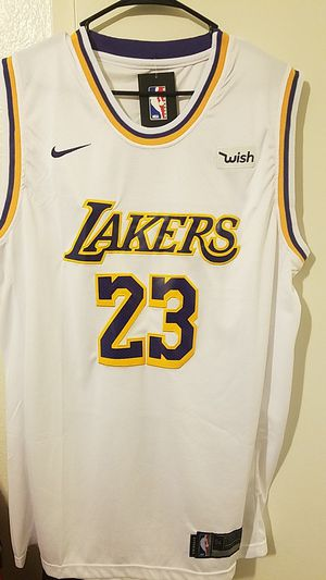 92ab37615 2018 19 Lakers Labron James jersey for Sale in South Gate