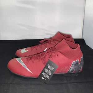Nike mercurial Superfly indoor soccer shoes size 12 for Sale in Lynwood, CA