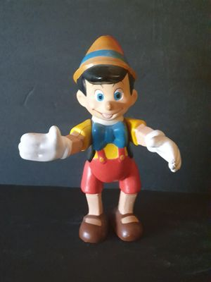 Disney Pinocchio vintage 1968 posable toy for Sale in Hialeah, FL