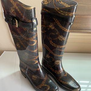 Ralph Lauren Rain Boots Size 8 for Sale in Newcastle, OK
