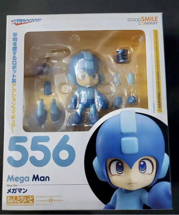 """Good Smile Company """"Megaman"""" Mega Man 556 Nendoroid Action Figure"""