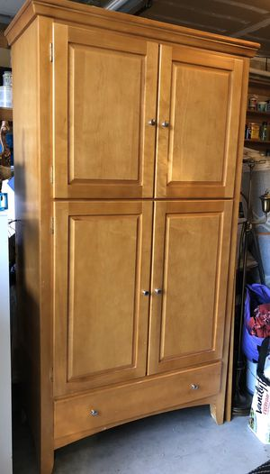 Wood Armoire for Sale in Bellevue, WA