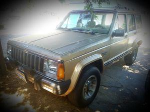 1987 XJ Jeep Cherokee Laredo for Sale in Manteca, CA