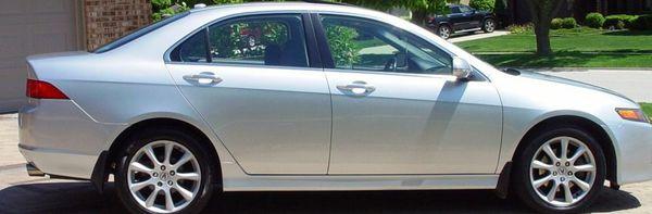 2OO7 Acura TSX FWDWheels One Owner