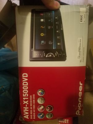 AVH-X1500DVD for Sale in Pittsburgh, PA