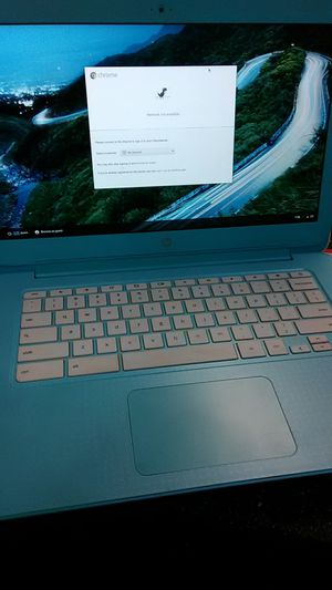 HP chromebook pastel blue Brand new w/o box for Sale in Portland, OR