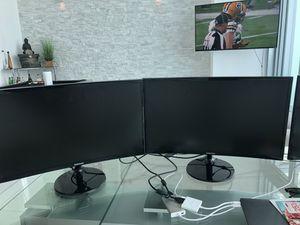 SAMSUNG 27' 4K Monitors for Sale in Miami, FL