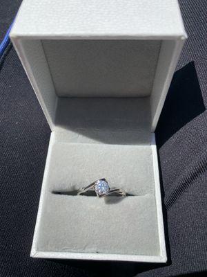 Heart Moissanite diamond engagement bridal wedding ring ✨ Promise ring ✨ GUARANTEED TO PASS DIAMOND TEST for Sale in Las Vegas, NV
