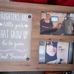 Cute Frame Wood Daughters Frame for Sale in Oklahoma City, OK