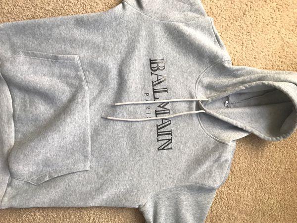 Gray Balmain Sweater