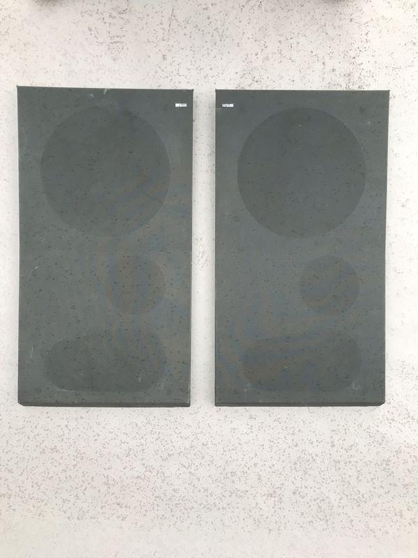 VINTAGE BANG & OLUFSEN BEOVOX S60 SPEAKER GRILLS - DENMARK