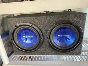 Pioneer 10 inch subwoofers for Sale in Las Vegas, NV