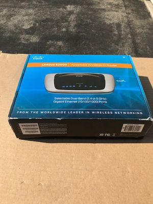 Cisco Linksys E2000, Complete in Box for Sale in Bowie, MD