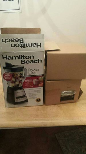 Hamilton Beach 58148 Power Elite Multi-Function Blender with Glass Jar (58148A), OSFA, Black for Sale in Lincolnia, VA