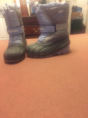 Girls sorel snow boot size 12 for Sale in Summerfield, NC