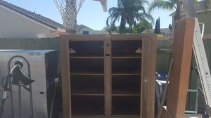 Knaack job box upgraded with heavy duty casters double doors both sides for Sale in Tracy, CA