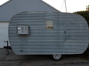 Vintage travel trailer, canned ham for Sale in Pico Rivera, CA