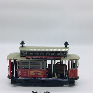 Vintage Wind-up Tin Toy San Francisco Cable Car by Faya - Spanish Toy Company for Sale in Maywood, IL