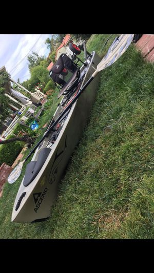 Fishing Kayak fully rigged up for Sale in Campbell, CA