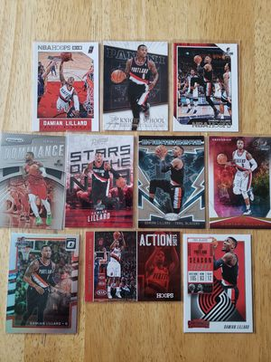 Damian Lillard Portland Trail Blazers NBA basketball cards for Sale in Gresham, OR