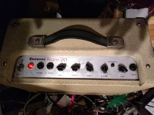 EpiphoneRegent 20 Guitar Amp for Sale in Alexandria, VA