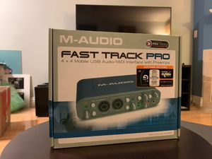 New! M-Audio Fast Track Pro for Sale in San Diego, CA