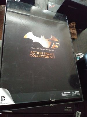 Batman's 75 anniversary action figures set 1 & 2 for Sale in Casa Grande, AZ