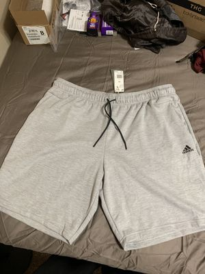 Adidas Shorts Men's 3XL (Gray) for Sale in Murrieta, CA