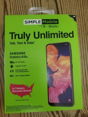 Samsung Galaxy A10e Smart Phone - Simple Mobile Wireless for Sale in Miami, FL