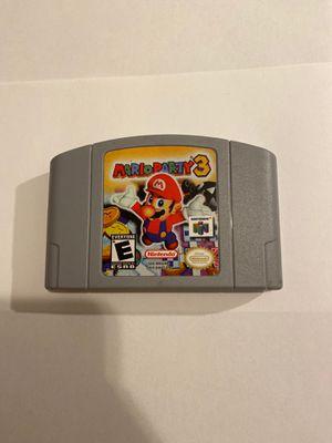 Mario party 3 Nintendo 64 for Sale in Brooklyn, NY
