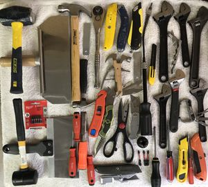 Drywall Knives! Sledgehammer! Mallet! Crescent Wrenches for Sale in Mound, MN