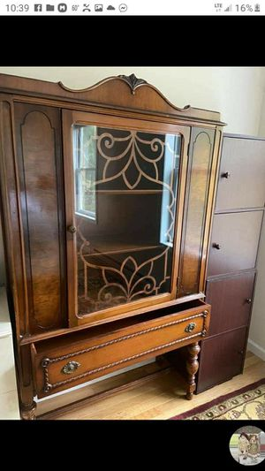 Antique china cabinet for Sale in Beach Lake, PA