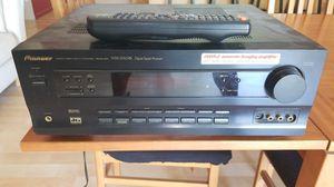 Pioneer receiver 100watt x 5 with remote $15 for Sale in Phoenix, AZ