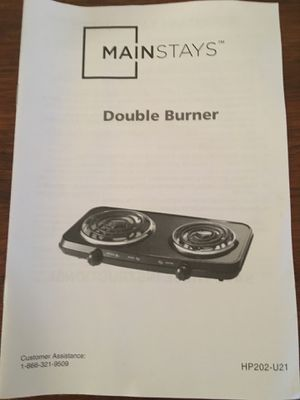 Double burner for Sale in Hamilton, MS