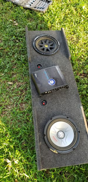 Subs and Amp for Sale in Fort Worth, TX