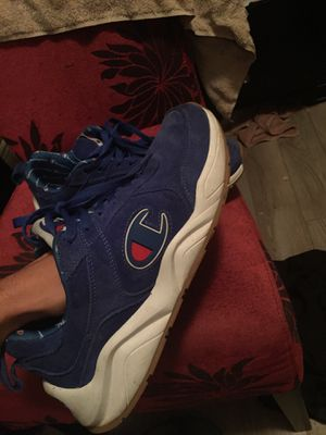 Champion shoes blue size 10 for Sale in Tolleson, AZ