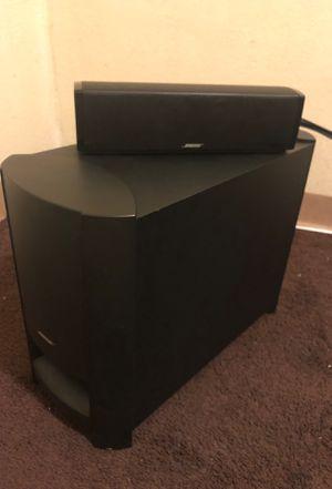 BOSE surround sound and sound bar for Sale in San Bernardino, CA
