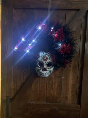 Día De Los Muertos Wreath for Sale in Azusa, CA