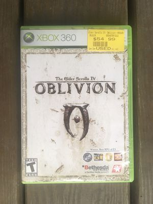 The Elder Scrolls IV: Oblivion Complete With Map And Manual - Xbox 360 for Sale in Chicago, IL