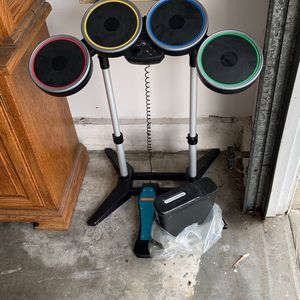 Play Station Drum Set & Xbox 360 for Sale in La Puente, CA