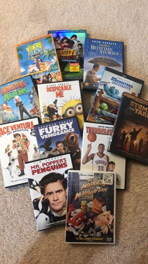 Lot of 12 Kid DVD's for Sale in Linthicum Heights, MD